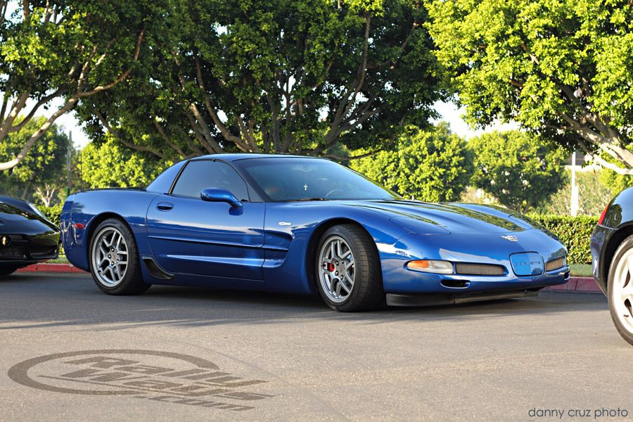 Corvette C5 Z06 In Electron Blue At Cars And Coffee Irvine One Of The World S Most Famous Car Meets Corvette Corvette C5 Chevrolet Corvette