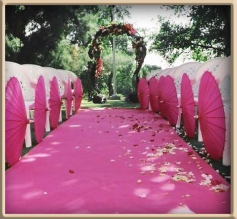 We Have Hot Pink And Light Pink Carpet Runners Great For Weddings Or Other Special Events We Have Lengths Aisle Runner Wedding Wedding Runner Aisle Runner