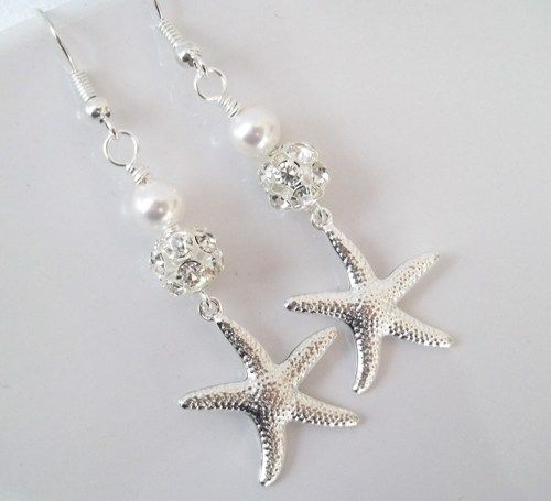 Beach Theme Wedding Jewelry S Fashion Bracelet EaringTiara DIY