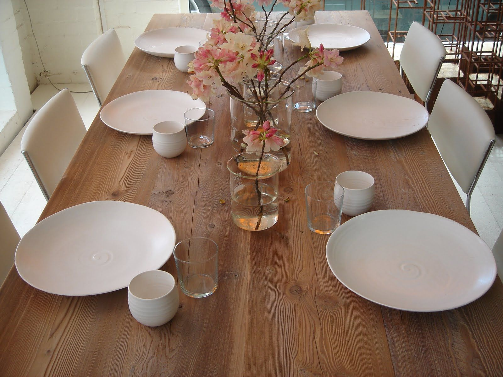 Mark tuckey table setting (With images) Timber furniture