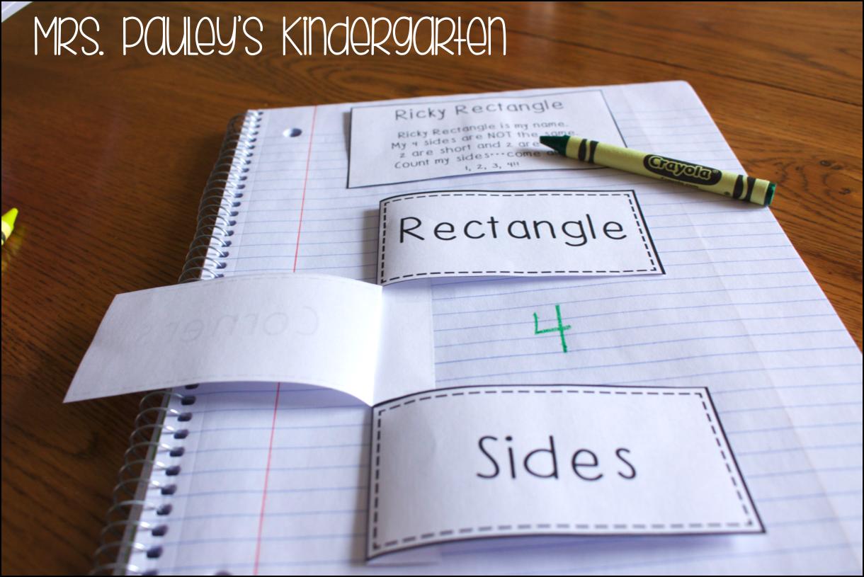 Mrs Pauley S Kindergarten Math Interactive Notebooks