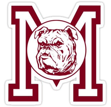 Vintage Mississippi State Logo Sticker By Maroons Mississippi State Logo Mississippi State Mississippi