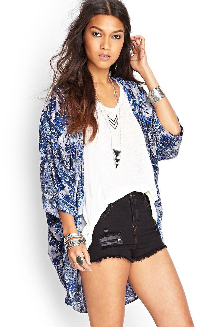 Abstract Boho Kimono #SummerForever