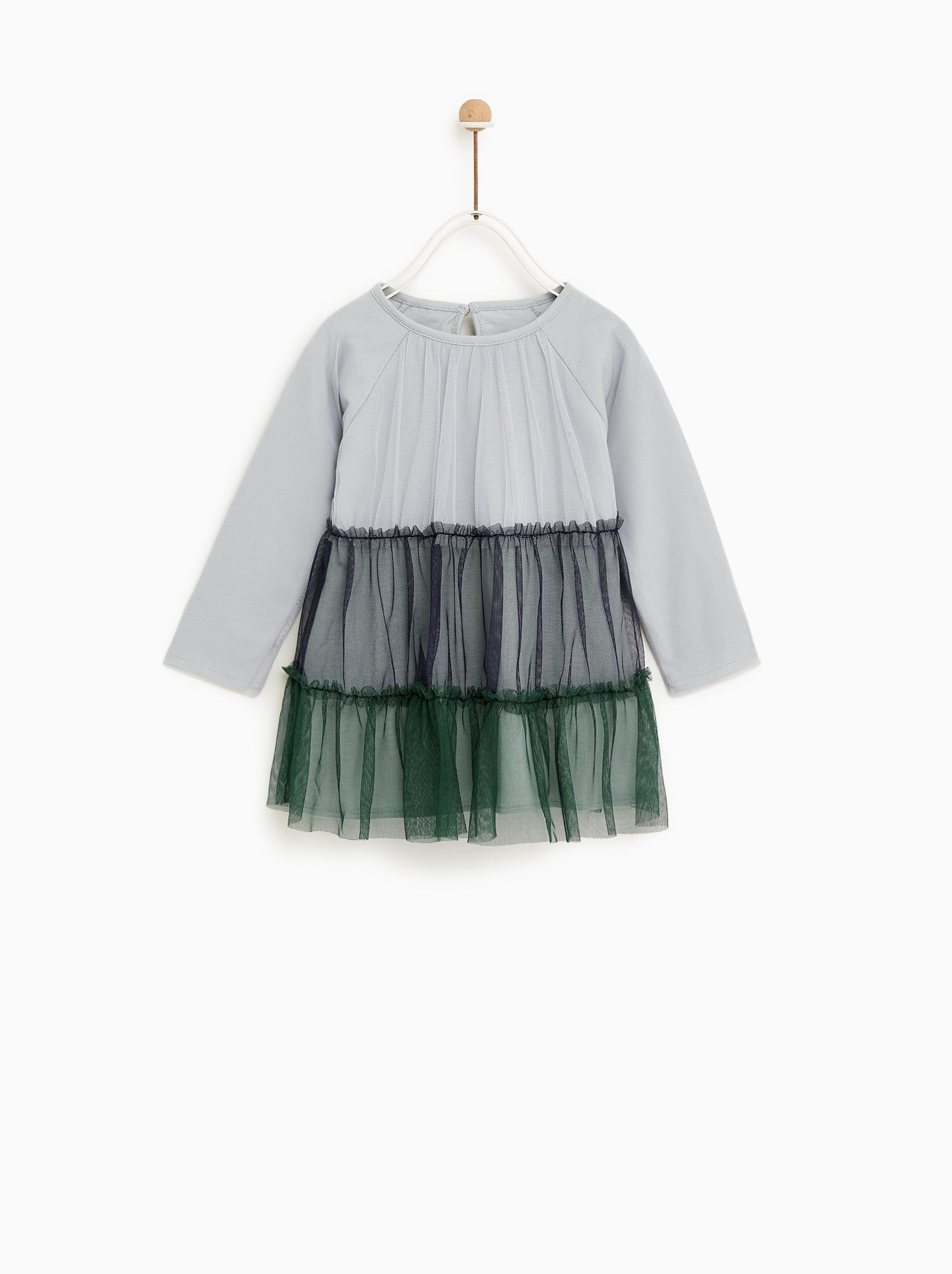 dcabdd905c9 Image 1 of TULLE DRESS from Zara | LITTLE | Tulle dress, Tulle, Baby ...