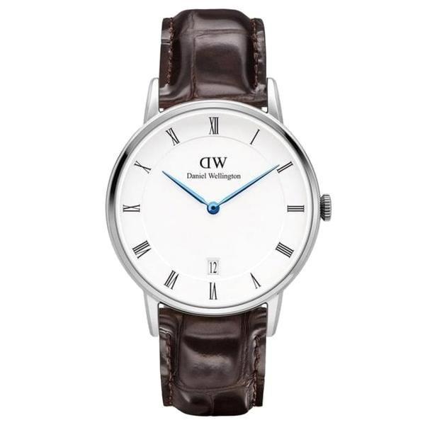 def5ad43784f2 Dapper York Silver 34mm Ladies Watch Daniel Wellington Uhr