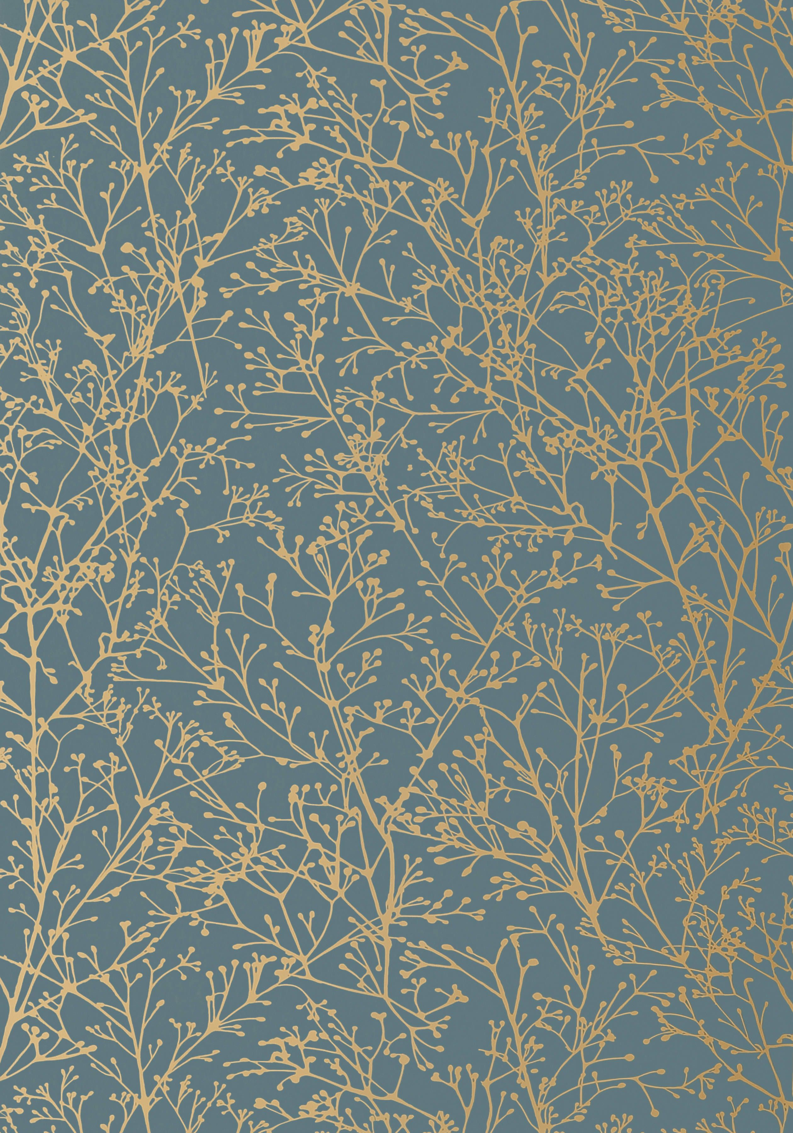 ZOLA Gold on Mineral Blue AT Collection Zola from Anna