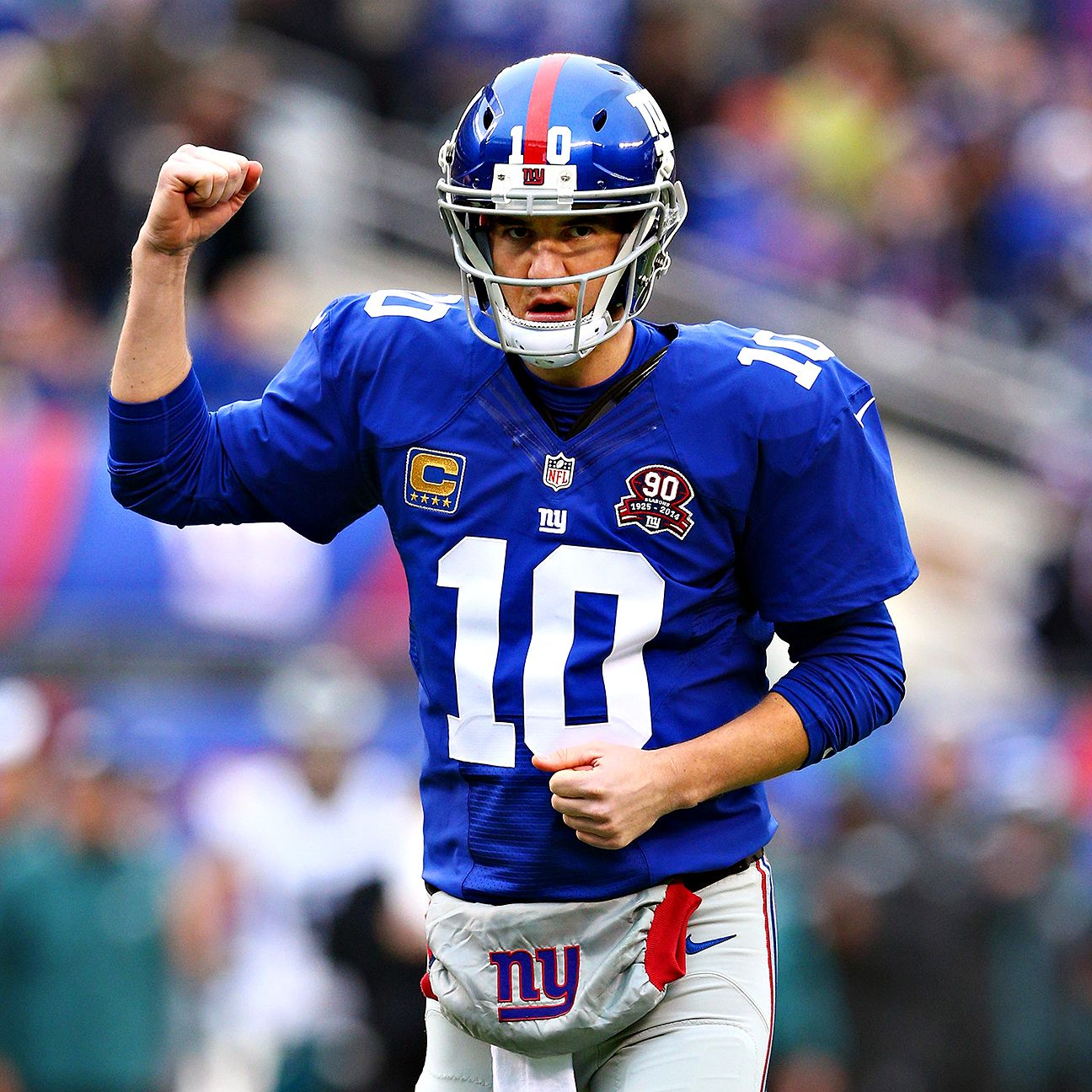 Report Eli wants to be NFL's highestpaid player