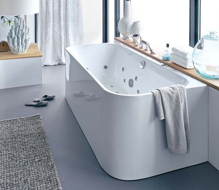 Brilliant Bathtub Design For Placement Next To A Window - Duravit Waschbecken Klein
