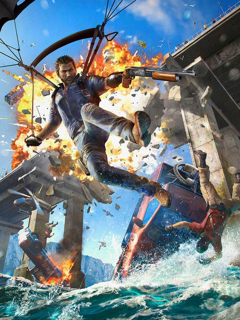 Pc Gamer Just Cause 3 By Hubbletea Just Cause 3 Ps Games Gaming Wallpapers