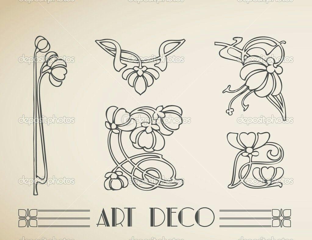 Pin By Irit On Art Art Art Nouveau Pattern Art Nouveau