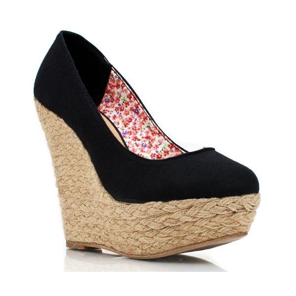 chaussures a talons compensés   CHAUSSURE À TALON COMPENSÉ