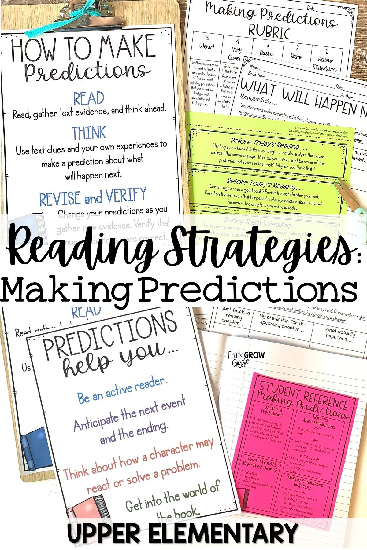 Making Predictions Activities And Task Cards