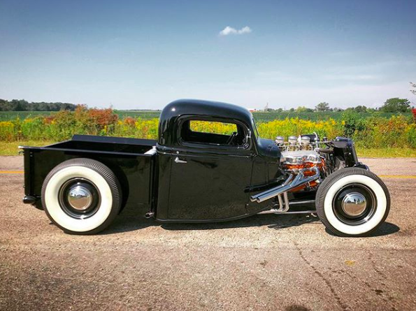 1937 Ford Pickup Truck Hot Rod Chevy 348 W Powered By Binbrook Speed And Custom Shop Canada Jalopy Rat Rod Bobber Truck Rat Rods Truck Rat Rod Rat Rod Pickup