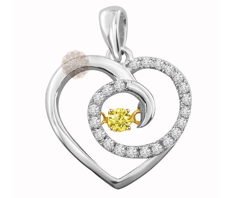 Vogue Crafts Designs Pvt Ltd manufactures Designer Gold Heart
