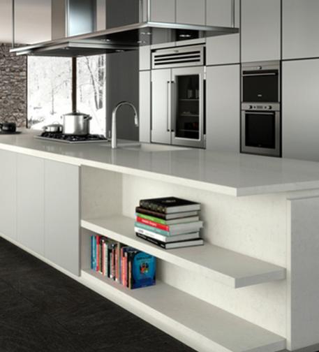 Caesarstone Coastal Grey Kitchen Caesarstone: Caesarstone Classic- 5000 London Grey
