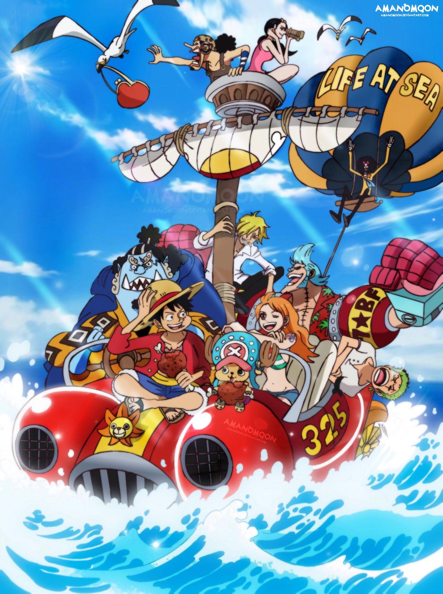 Straw Hat Pirates Manga Anime One Piece One Piece Anime One Piece Fanart