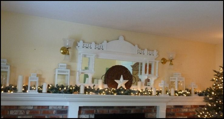 Chritstmas mantel