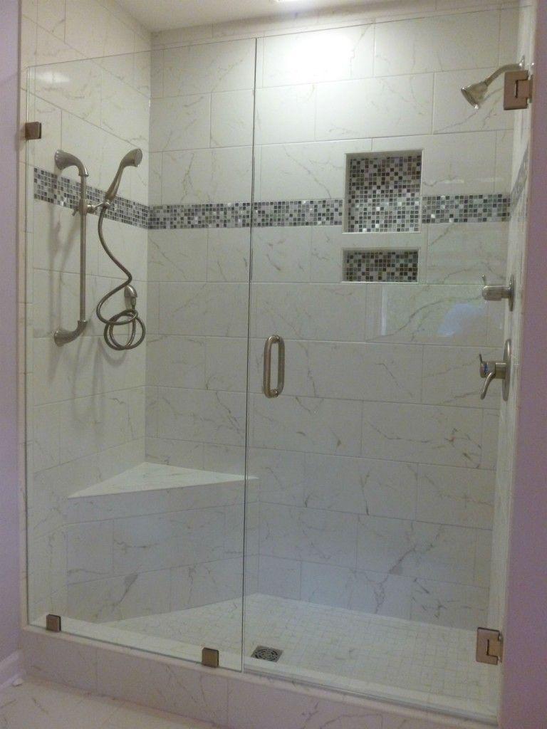 4 Foot Frameless Shower Door With Images Frameless Shower