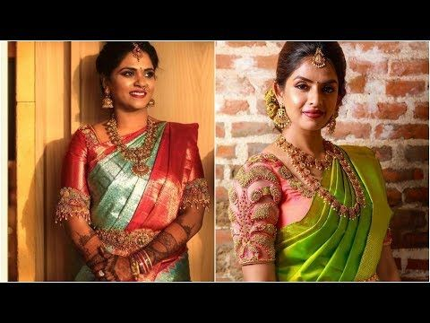 Latest Blouse Maggam Work Designs for weddings 2020 ||Latest Bridal Blouse Designs 2020