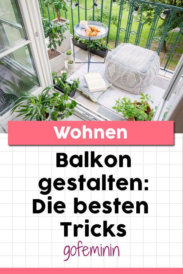 Balkon gestalten: Die besten Tipps und Ideen