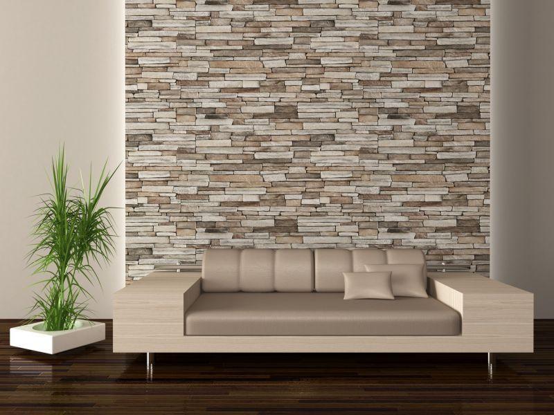 rivestimento parete in pietra | Living room | Pinterest | Moderno ...