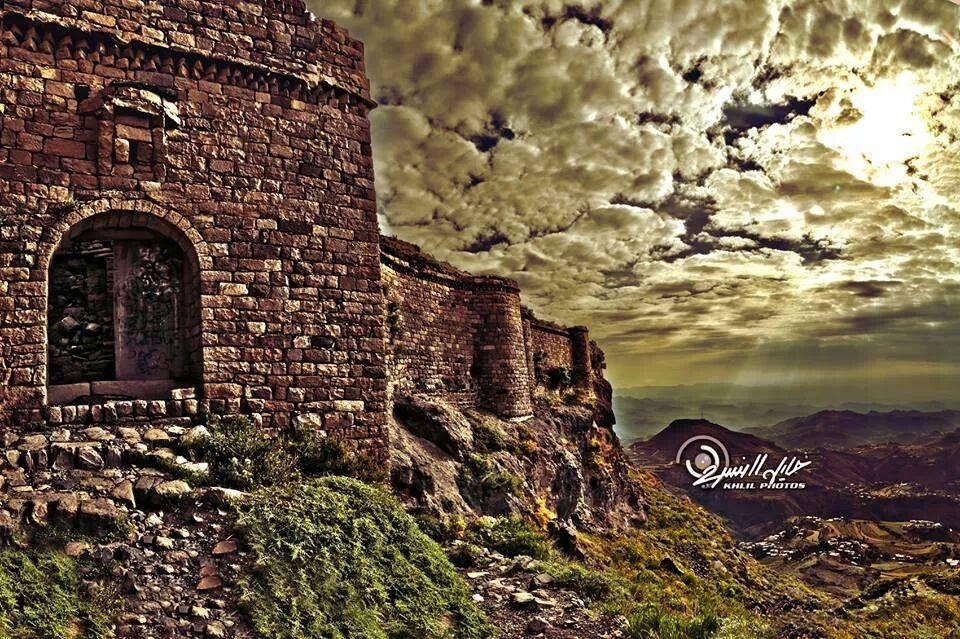 حصن حب بعدان تصوير خليل النسري Fort Hab Yemen Monument Valley Natural Landmarks Monument