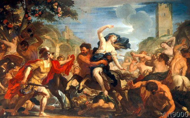 Antonio Molinari - Rape of the Sabines