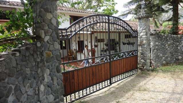 Fabricaci n hierro forjado rejas puerta pasamanos for Modelos de portones en hierro forjado