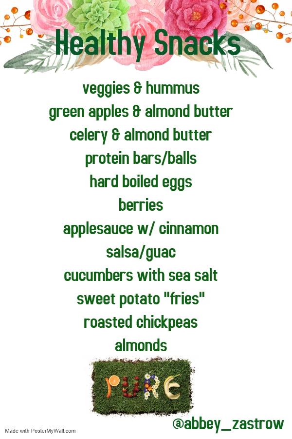 Arbonne Healthy Snacks – Carey&CleanEatingS