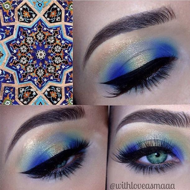 sugarpillcosmetics:  Gorgeous, glamorous eyes by Withloveasmaaa using Sugarpill Mochi eyeshadow and Anastasia Royal Hypercolor! http://instagram.com/p/sBeyUZxRO6/