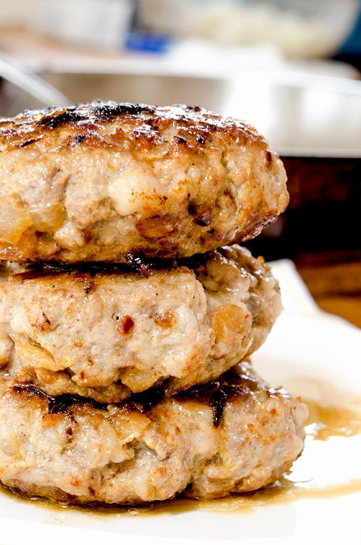 Ground Pork Burgers Recipe Pork Burgers Food Recipes
