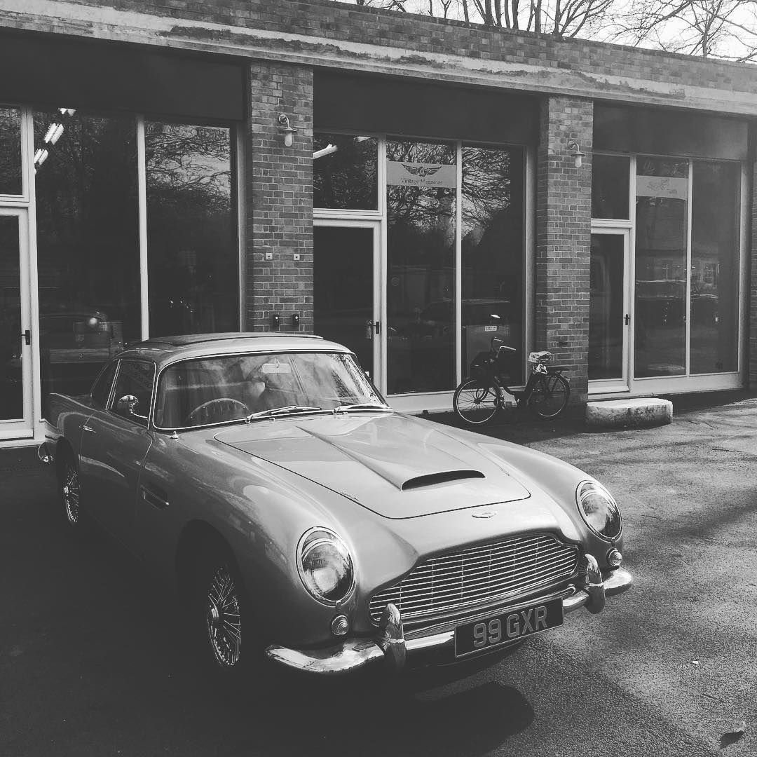 """#AstonMartin #DB5 At #HarryFraserVehicleUpholstery"""