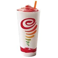 Make Jamba Juice's Strawberries Wild Smoothie at Home! It's made with frozen strawberries, apple juice, banana and nonfat frozen vanilla yogurt. Each serving, 176 calories, 0 grams fat and 5 Weight Watchers POINTS PLUS. Happy sipping! http://www.skinnykitchen.com/recipes/make-jamba-juices-strawberries-wild-at-home/