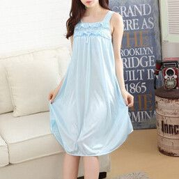 Cute New Ladies Summer Ice Thin Sexy Sleepshirt Women Nightgown. Find this  Pin and more on Nightgowns ... f80a92ed5