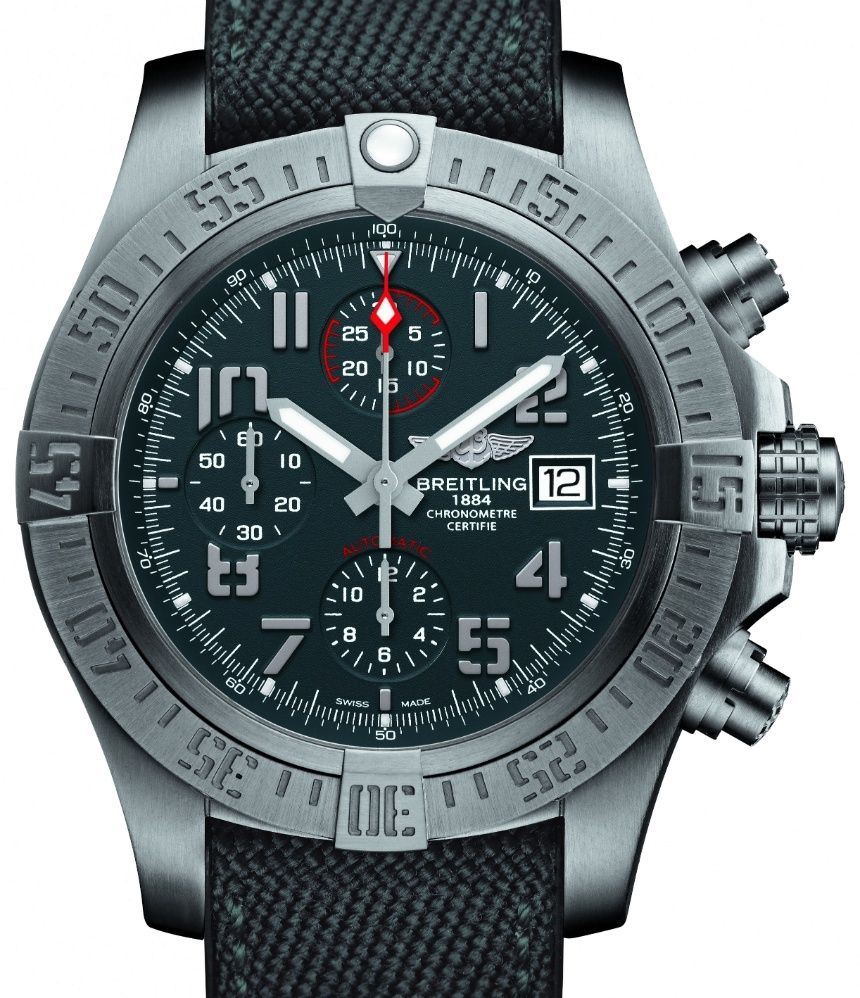 42230f1950a Breitling Avenger Bandit Watch - by Zen Love - see   read all about it on  aBlogtoWatch.com