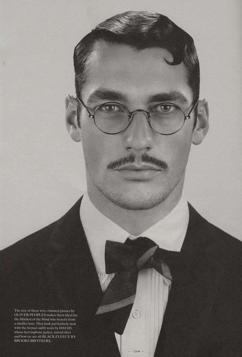 b9c8dce27d Fantastic Man - Spectacles by Anthony Maule 2008