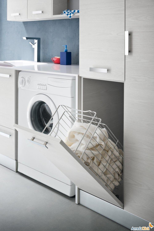 bagno lavanderia piccolo - Cerca con Google  Bagno  Pinterest  Piccolo, Laundry and Mobiles