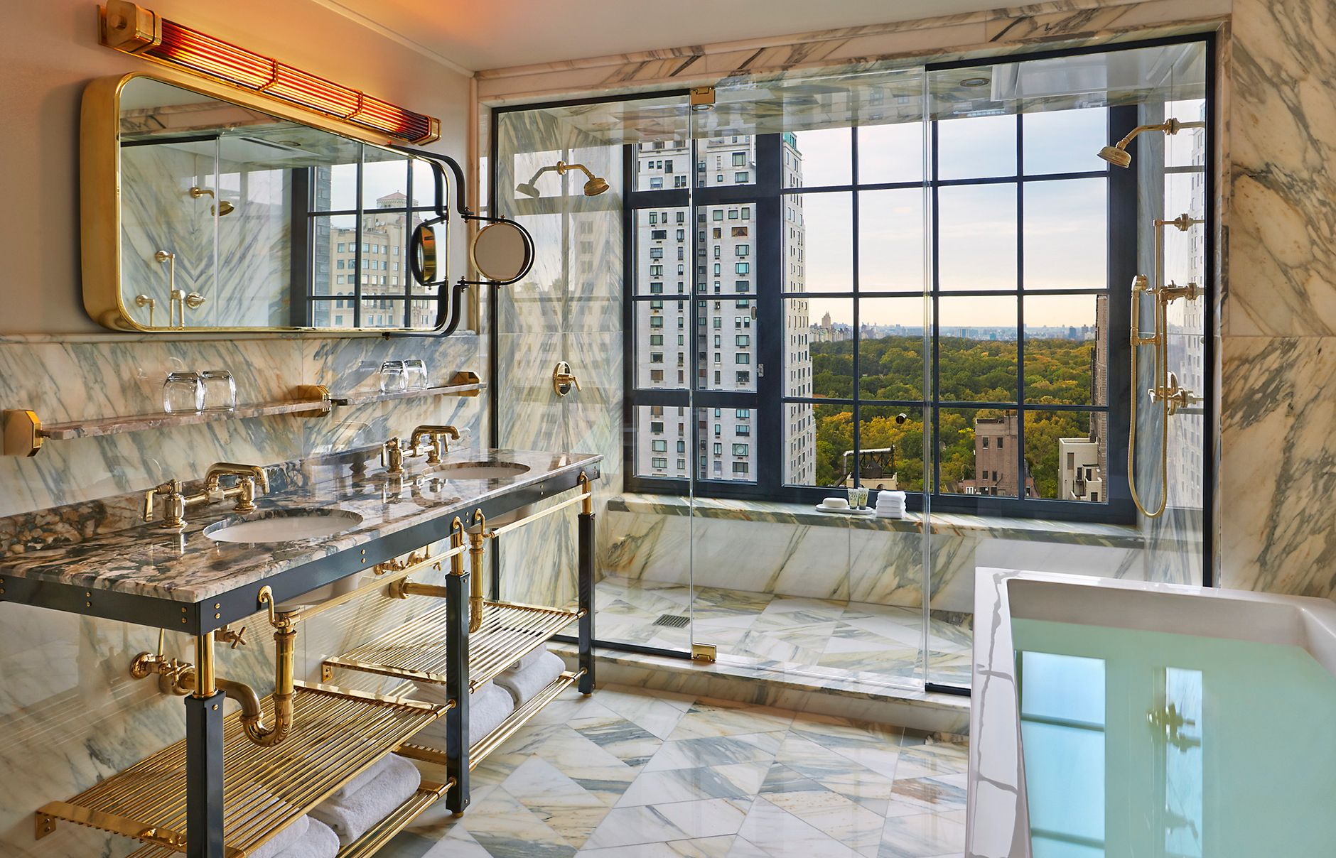 suite 57. viceroy new york, usa. © viceroy hotel group. | bathroom
