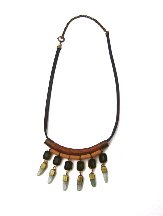 Redon Necklace by GracelandJewelry on Etsy, $125.00