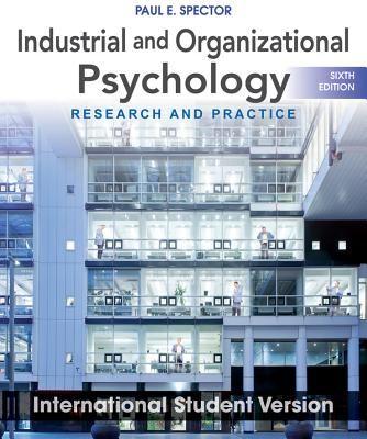 Organizational Research Methodology Books Industrial And Organizational Psychology Resear Industrial And Organizational Psychology Psychology Organizational