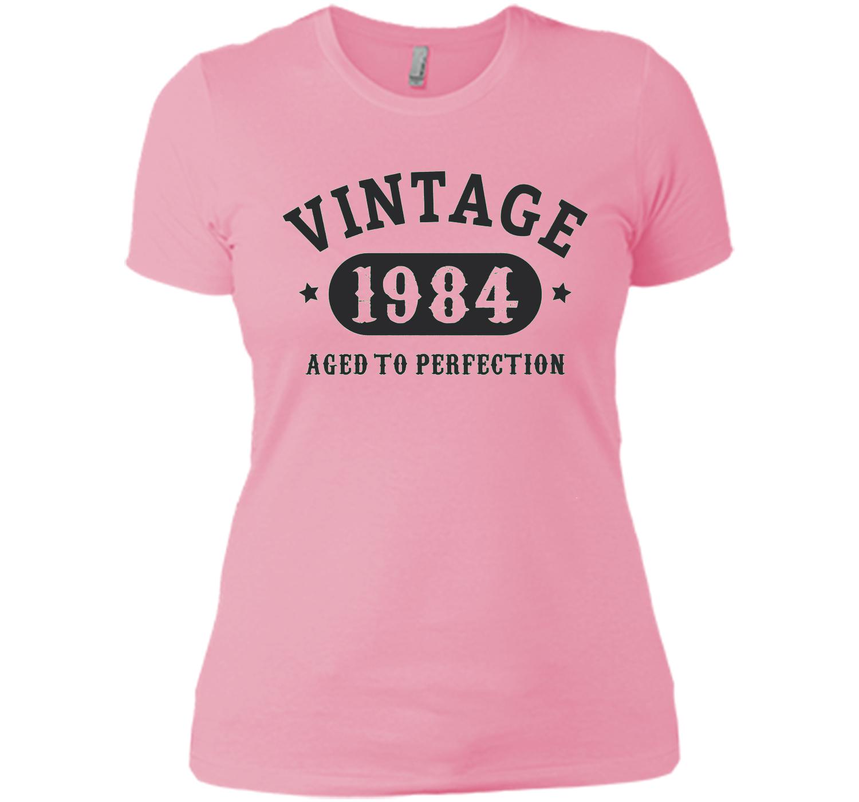 33 Years Old 33rd Birthday B Day Gift 1984 T Shirt
