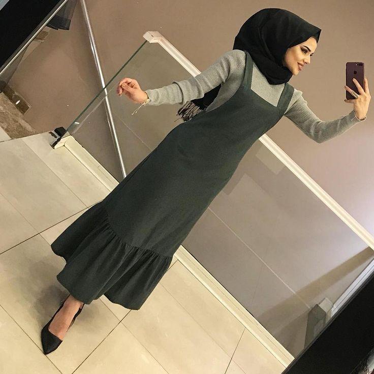 Photo of Tesettür günlük elbise kombini – Kadın Giyim ve Moda