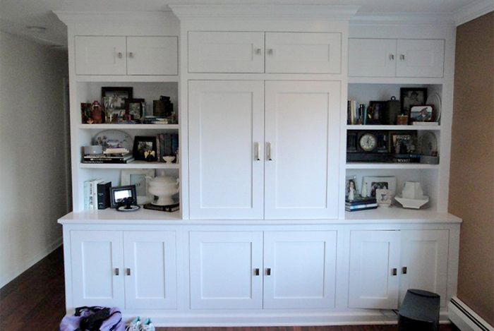 TV Cabinet With Shaker Style Doors