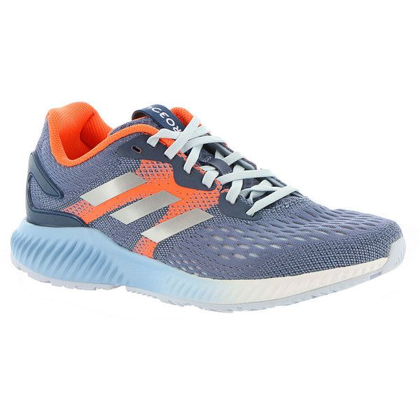 adidas Aerobounce Women's Navy Running ($100) ❤ liked on Polyvore featuring  shoes, athletic