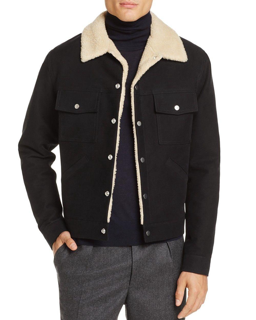 cb0f18e9c SANDRO Sandro Shearling Jacket - 100% Exclusive. #sandro #cloth ...