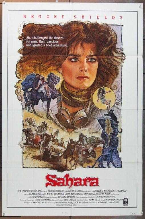 Sahara 1983 3095 Sahara Movie Brooke Shields Movie Posters