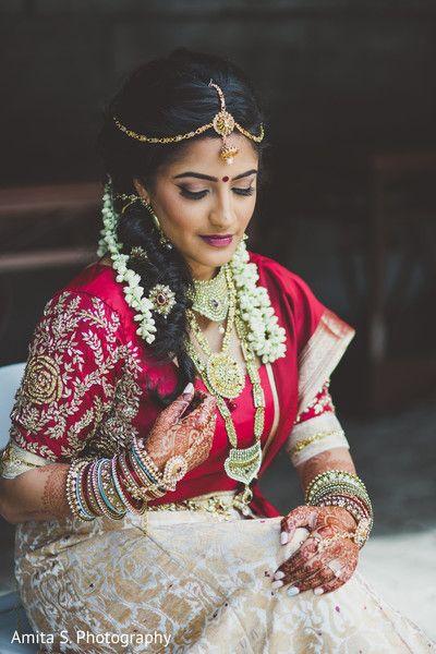 Fairytale indian bride. http://www.maharaniweddings.com/gallery/photo/103927