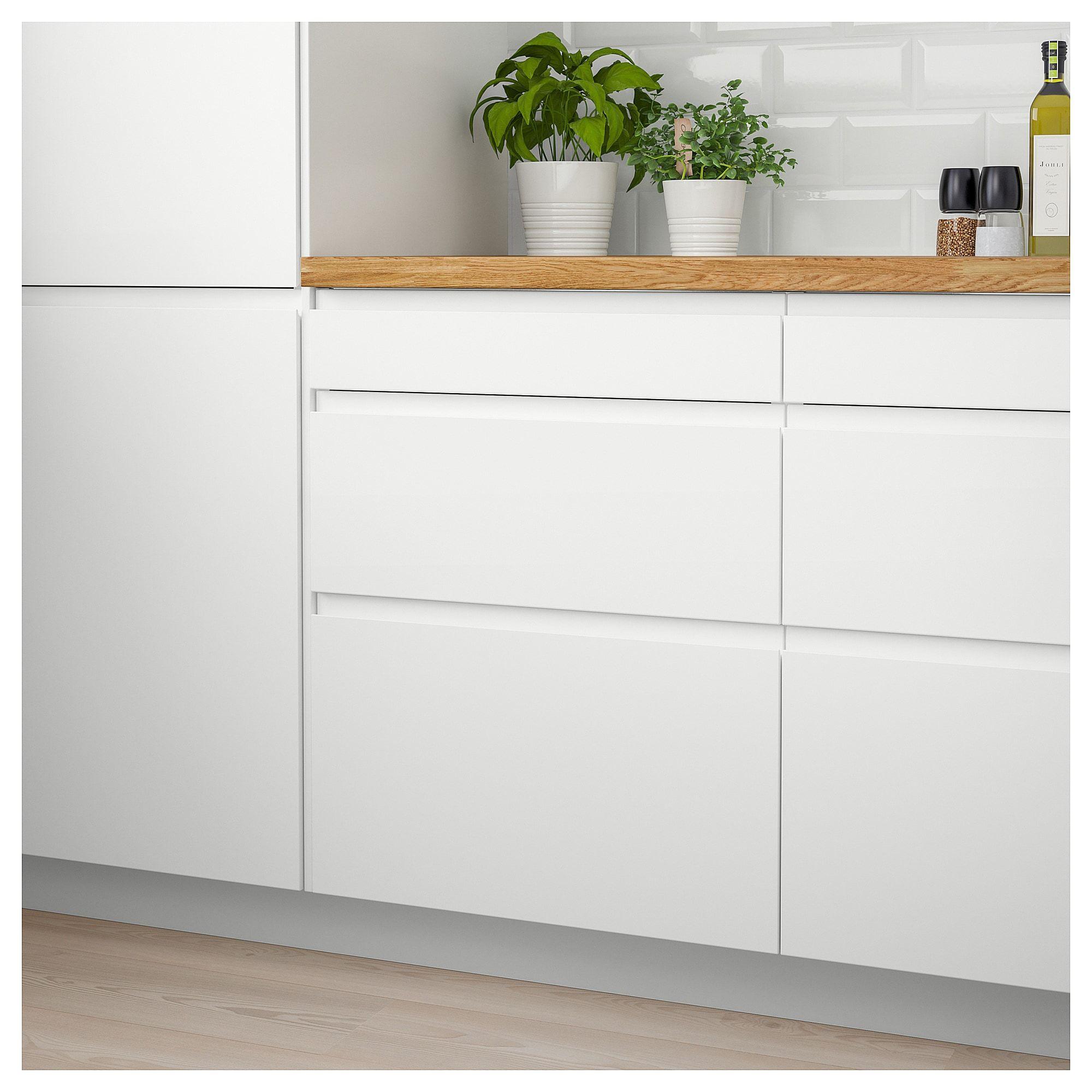 Best Ikea Voxtorp Drawer Front Matt White Interior Design 400 x 300