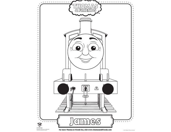 Free Games Activities And Party Ideas Thomas And His Friends Thomas And Friends Coloring For Kids
