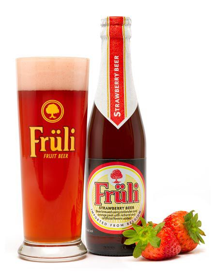 Fruli Belgian Strawberry Beer With Images Strawberry Beer